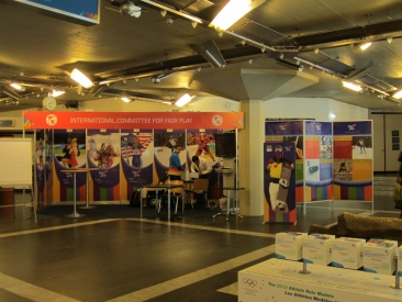 CIFP Booth at Innsbruck 2012 WYOG_3