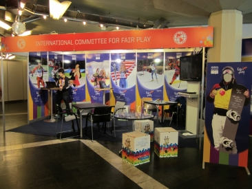 CIFP Booth at Innsbruck 2012 WYOG_2