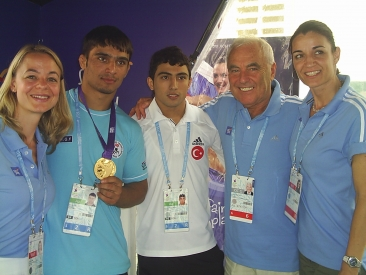CIFP Team with Gold Medal Winner in Singapore