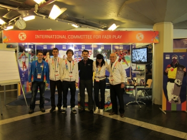 CIFP Team at Innsbruck 2012 WYOG