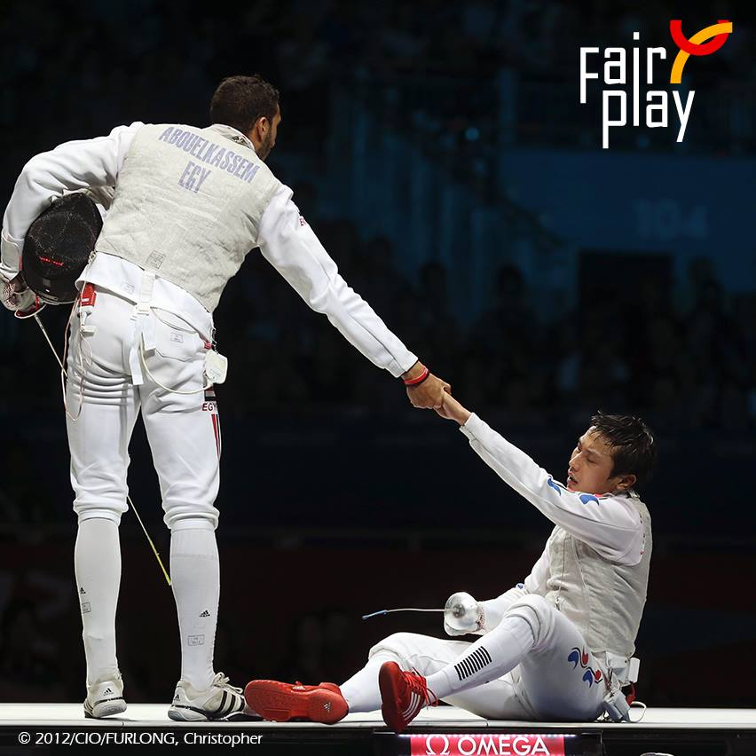Looking for Fair Play stories at the 2019 FIE World Fencing Championships