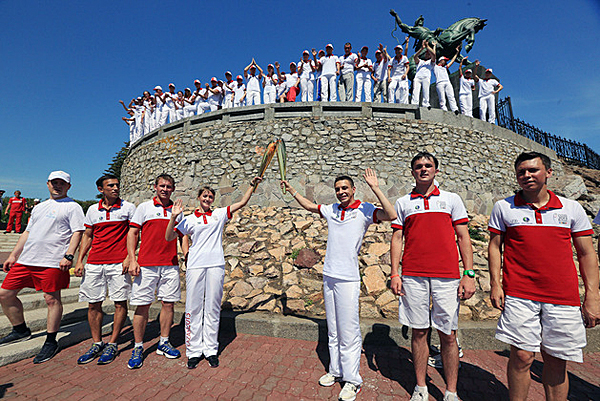 Ufa becomes 30th City on Russian Leg of Torch Relay