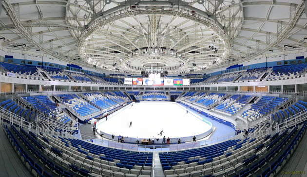 "Sochi's Iceberg Skating Palace to provide ""beautiful"" Games venue"