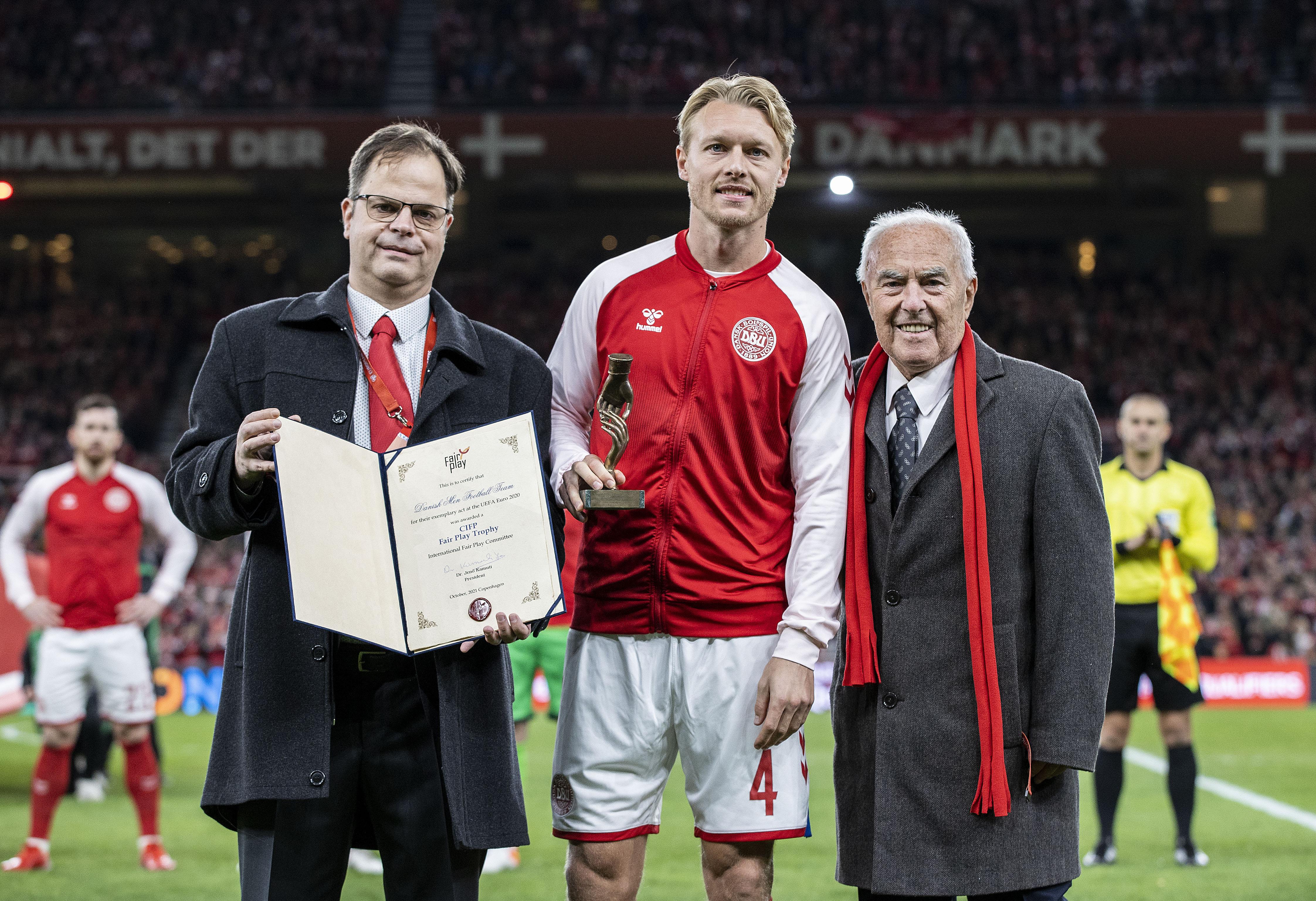 Fair Play Award to the Danish National Football Team
