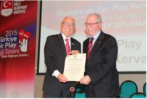 World Fair Play Awards presented in Turkey