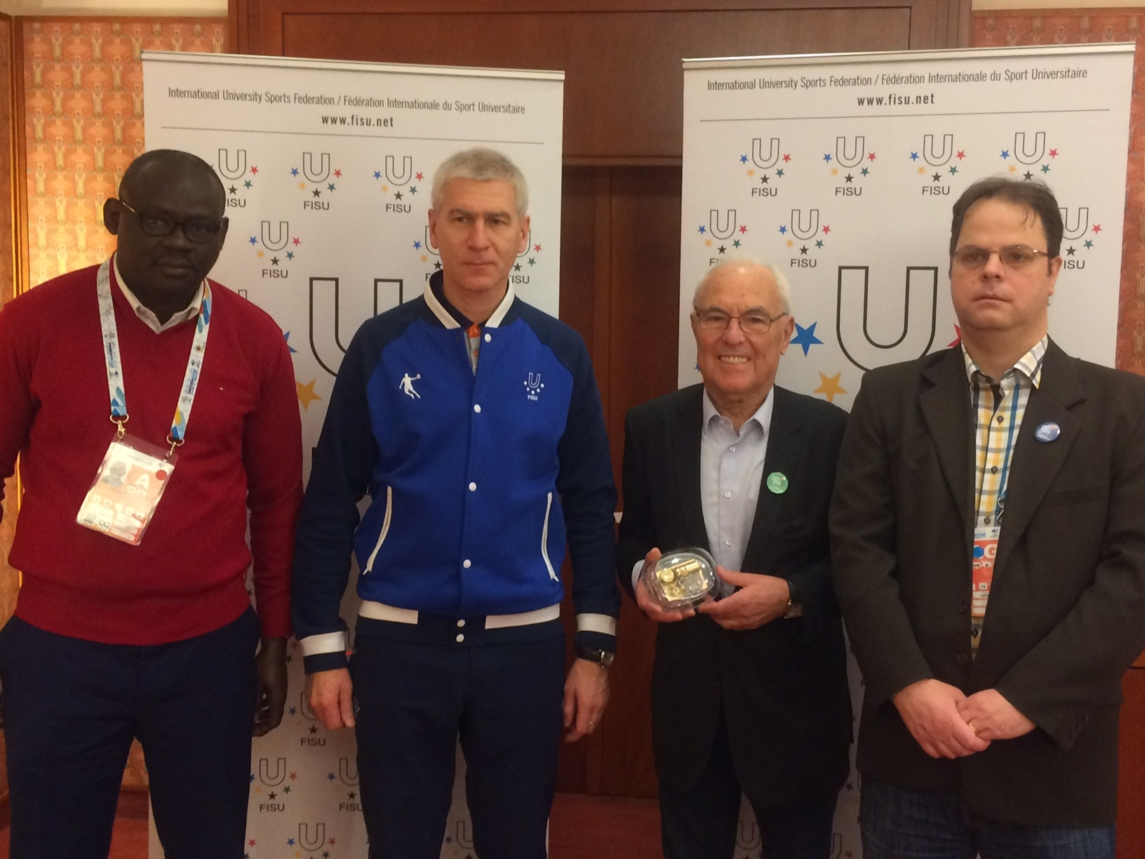 FISU leadership
