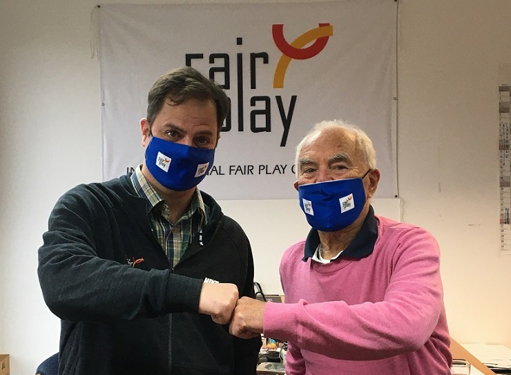 The amazing Fair Play masks have arrived!