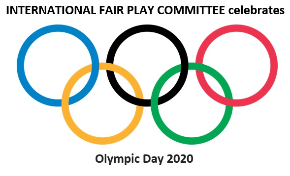 Let's celebrate Olympic Day together